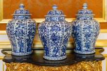 Three Chinese Porcelain Vases ...