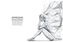 Depression Low Poly Banner Tem...