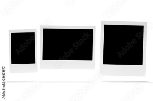 Obraz Instants photo isolated on a background - fototapety do salonu