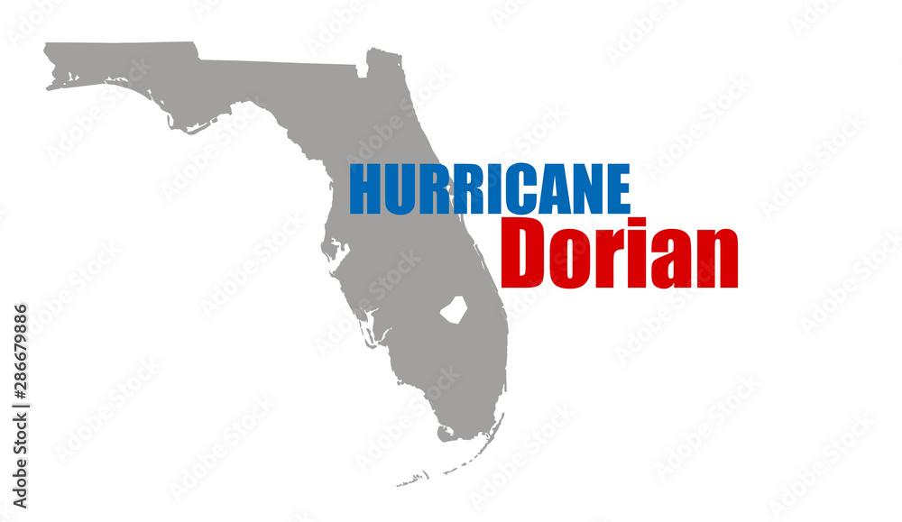 Fototapety, obrazy: Hurricane Dorian