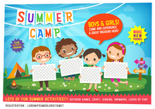 Kids Summer Camp Education Adv...
