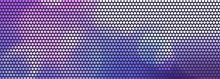 Color Background With Geometric Pattern Background LED Dot Style