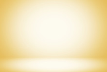 Beige Luxury Gradient Background With Light From The Top, Suitable For Presentation And Backdrop.