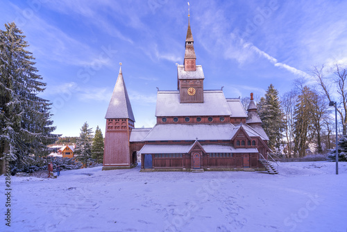 Fototapeta  Stabskirche Hahnenklee