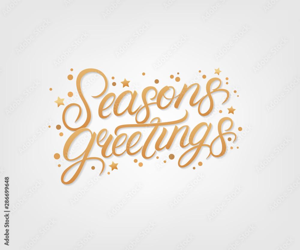Fototapety, obrazy: 2020 Seasons Greetings
