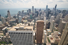 View Of Chicago From John Hanc...