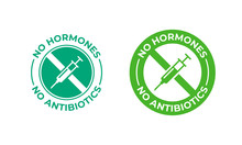 No Antibiotics Food Label Stam...