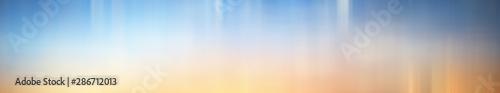 Valokuva  Blurred gradient background long horizontal
