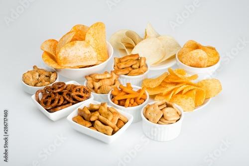 Cuadros en Lienzo variety of snacks