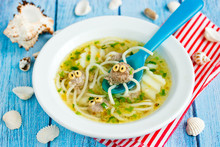 Octopus Soup For Kids Lunch - ...