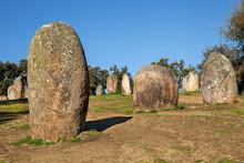 Almendres Cromlech. Megalithic...