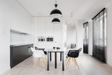 Spacious Kitchen With Dining A...