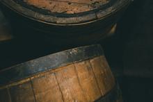 Old Barrel Background, Cask Cl...