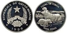 Guinea-Bissau Silver Coin 5000...