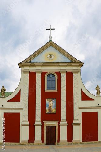 Lublin, Poland, May 9, 2019: Capuchin Church of St Wallpaper Mural