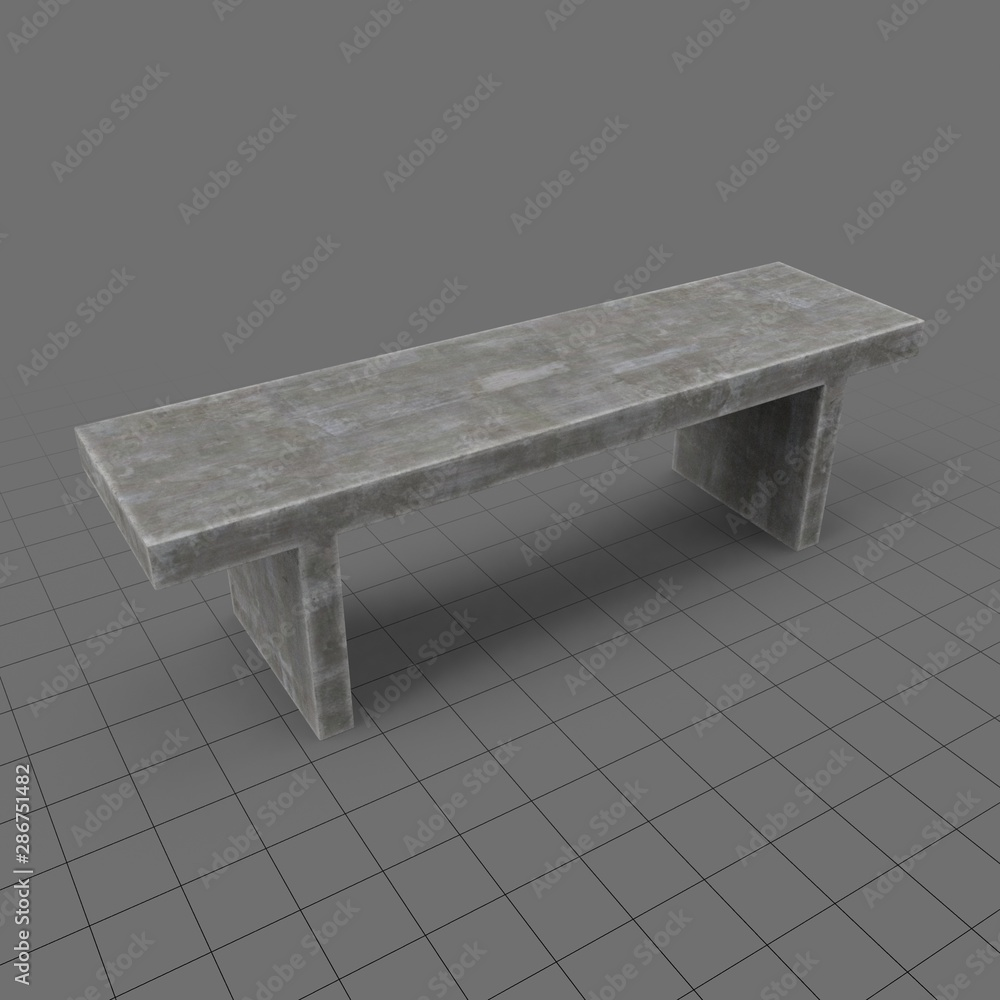 Fototapety, obrazy: Outdoor bench