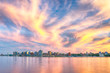 canvas print picture - Halifax, Nova Scotia Skyline at Sunset