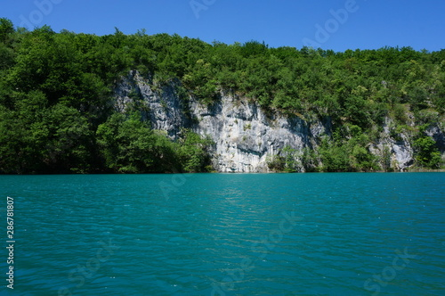 Foto op Aluminium Cathedral Cove Plitvice Lakes National Park
