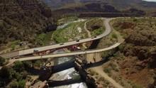 Salt River Canyon In Arizona, ...