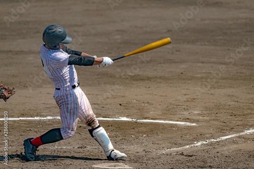 Photo 高校野球試合風景