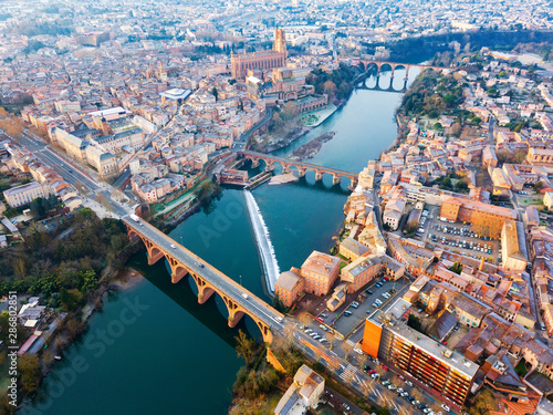 Photo City of Albi, France