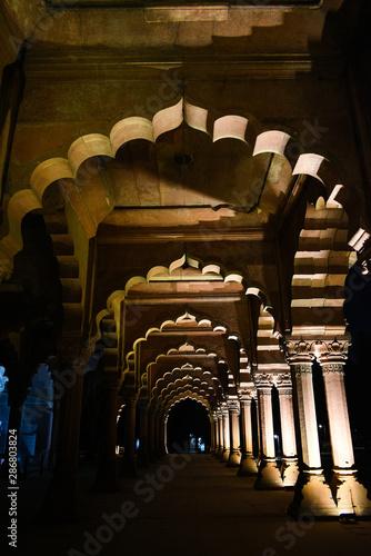 Autocollant pour porte Delhi Heritage walk in Delhi