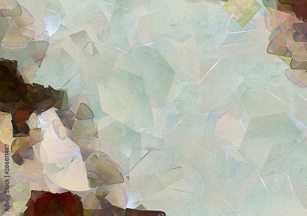 Abstract texture background. Digital painting artwork. Hand drawn artistic pattern. Modern art. Good for printed pictures, postcards, posters or wallpapers and textile print.