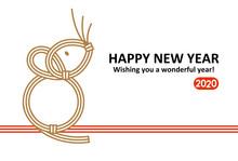 Mizuhiki Of Year Of The Rat Ho...