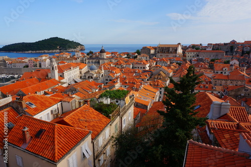 Fototapety, obrazy: the old city of Dubrovnik, Croatia