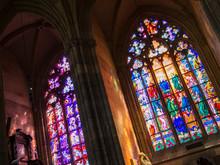St Vitus Cathedral Windows