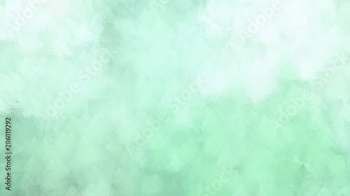 Fototapety, obrazy: powder blue, pale turquoise and honeydew colors illustration. abstract cloudy texture background with space for text or image. use painted graphic it as wallpaper, graphic element or texture
