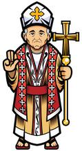 Bishop On White