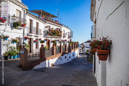 Photo townscape of Mijas in Andalusia