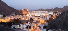Old Muscat Buildings After Sun...