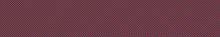 Hand Drawn Border With Tiny Polka Dot Stripe. Seamless Horizontal Edging Trim Pattern. Traditional Red Green Holiday Ribbon Texture. Vector Washi Tape