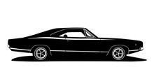 Vector American Muscle Car Pro...