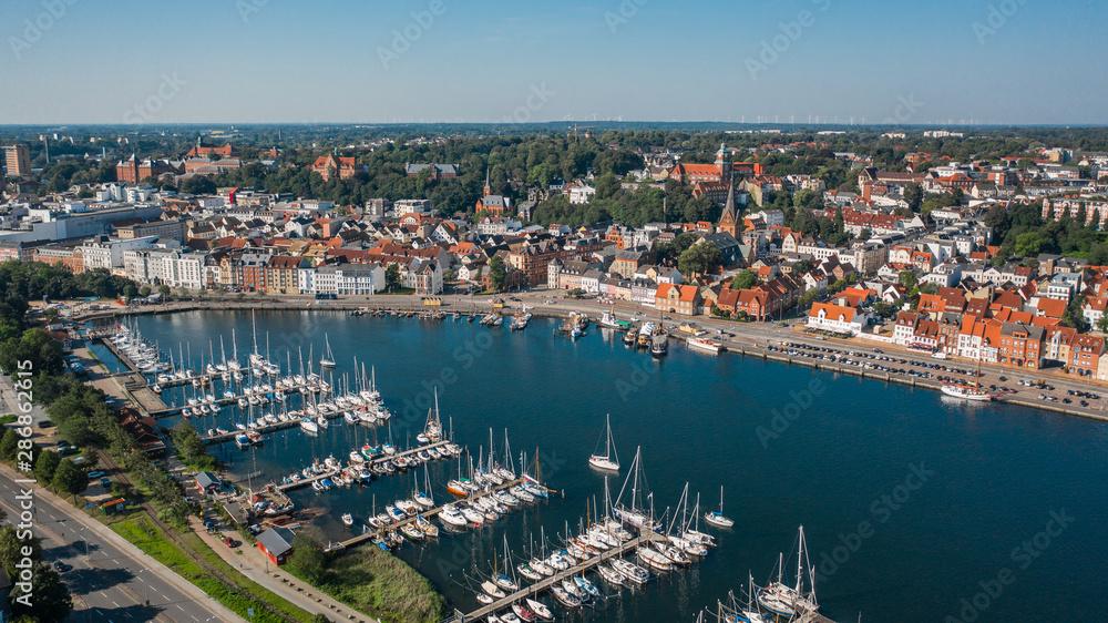 Fototapety, obrazy: Cityscape of Flensburg