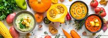 Autumn Soups Set