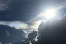 Dramatic Sky With Nacreous Clo...