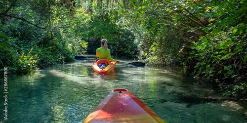 Valokuva  Kayaking on Juniper Springs Creek, Florida
