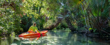 Kayaking On Juniper Springs Cr...