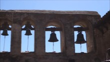 Bells At Old California Mission