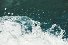 Splash Of Fresh Water With Dro...