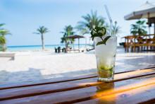 Mojito Cocktail At Soma Bay, Hurghada, Egypt