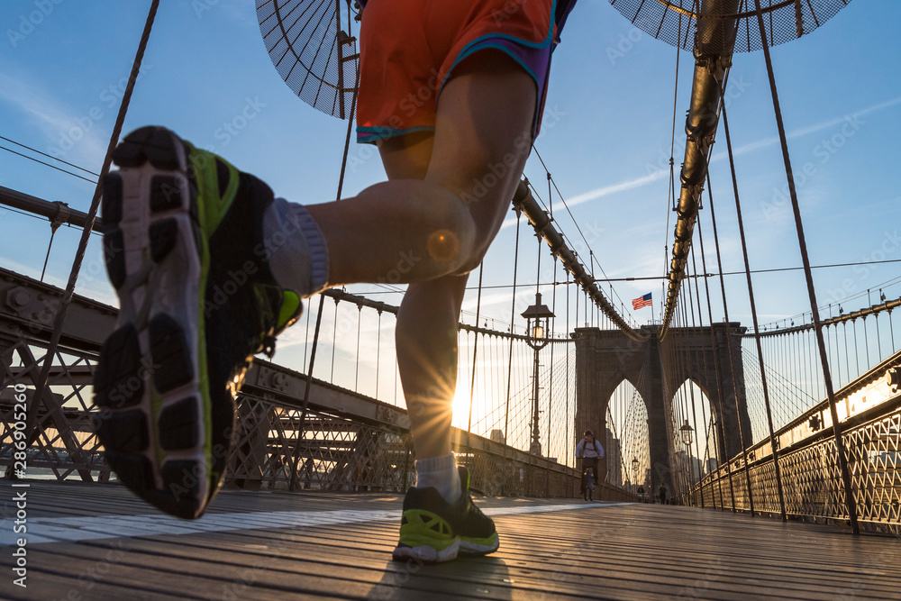 Fototapety, obrazy: Running in New York City