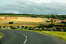 Beautiful Picturesque Countryside Of France, Near The Historic City Of Verdun