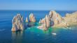 canvas print picture - Vista aérea del arco de Cabo San Lucas