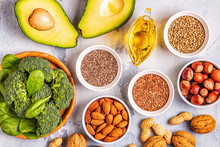 Vegan Sources Of Omega 3 And Unsaturated Fats.