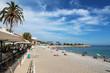 canvas print picture - Beach - Menton - French Riviera