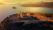 Aerial Drone Photo Of Sunset O...
